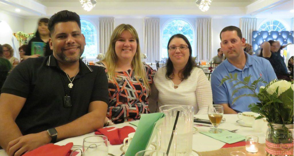 Staff at Employee Appreciation Awards dinner.